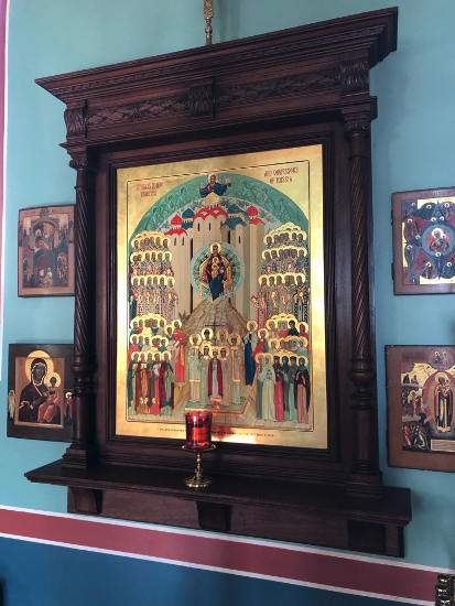 Icon of the Holy New Martyrs of Russia for the Church, in loving memory of Stanley Zapustas